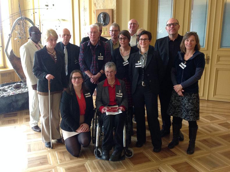 Die Delegation der BRK-Allianz