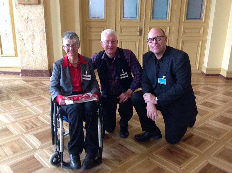 Dr. Sigrid Arnade und Günter Heiden