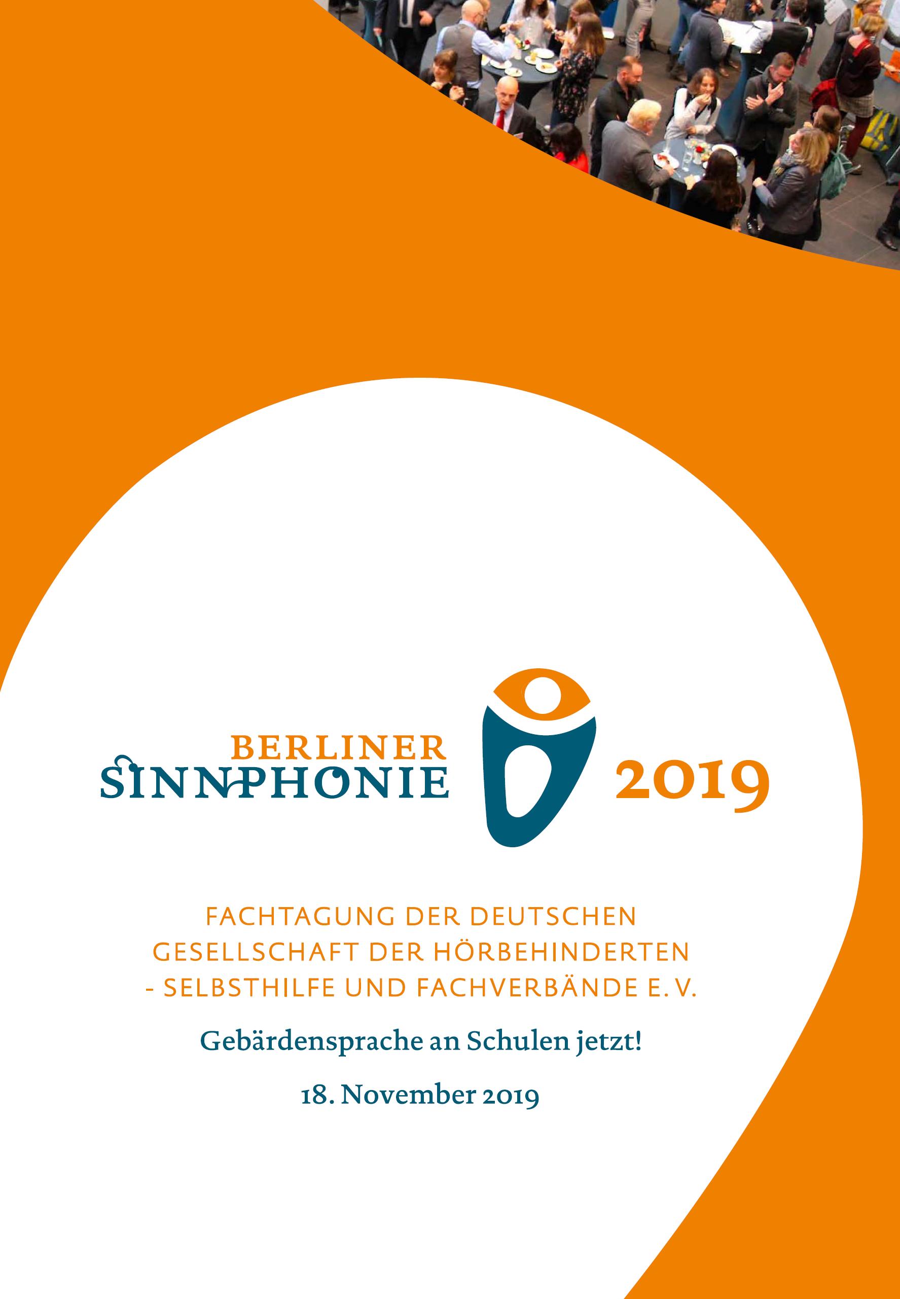 Deckblatt der Berliner Sinnphonie 2019: