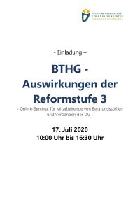 ICON: BTHG - Seminar