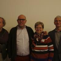 Fotoaufnahme der Vorstandsmitglieder der Deutschen Gesellschaft